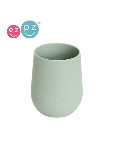 EZPZ Silikonowy kubeczek Mini Cup 120 ml pastelowa zieleń