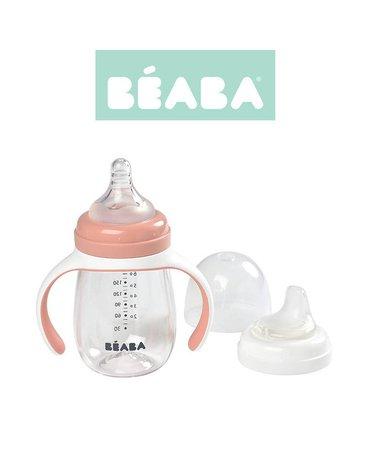 Beaba Butelka treningowa 2 w 1 tritanowa 210 ml old pink