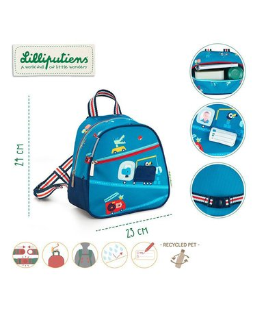 LILLIPUTIENS Plecak Przyjaciele w podróży