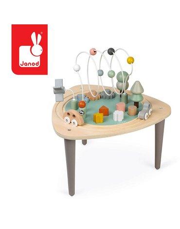 Wielofunkcyjny stolik edukacyjny drewniany Sweet Cocoon, Janod