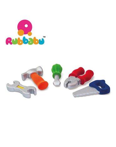 Rubbabu Zestaw 5 narzędzi sensorycznych