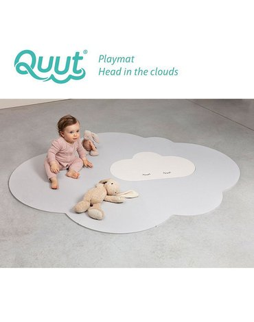 QUUT Mata do zabawy piankowa podłogowa duża Chmurka Playmat Pearl Grey