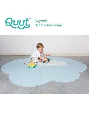 QUUT Mata do zabawy piankowa podłogowa duża Chmurka Playmat Dusty Blue