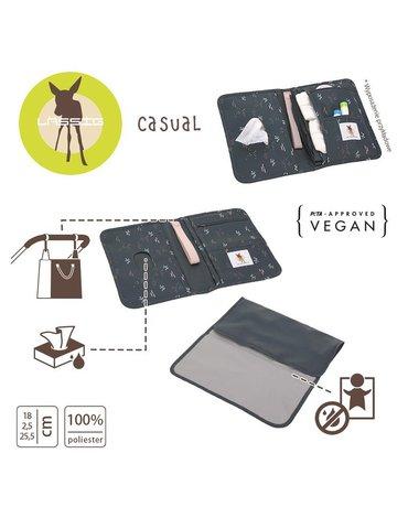 Lassig Casual Label Przewijak podróżny z etui na akcesoria Blobs forest
