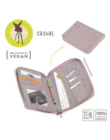 Lassig Casual Label Etui na dokumenty Flowers lilac