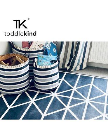 TODDLEKIND Mata do zabawy piankowa podłogowa Prettier Playmat Nordic Petroleum Dark Blue