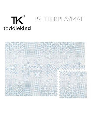 TODDLEKIND Mata do zabawy piankowa podłogowa Prettier Playmat Persian Sea Spray Blue