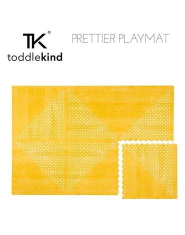 TODDLEKIND Mata do zabawy piankowa podłogowa Prettier Playmat Earth Mustard Flower