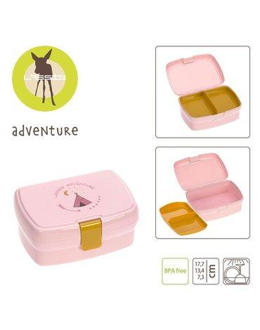 Lassig Lunchbox z wkładką Adventure Tipi NOWA KOLEKCJA