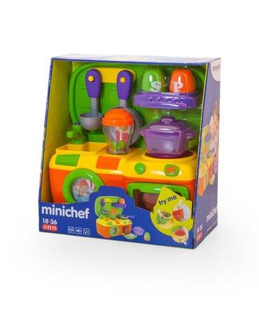 Miniland - zabawki edukacyjne - Mini Chef - zestaw przyrządów kuchennych