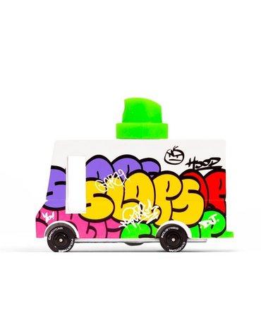 Candylab Samochód Drewniany Graffitti Van