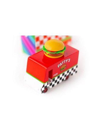 Candylab Samochód Drewniany Hamburger Van