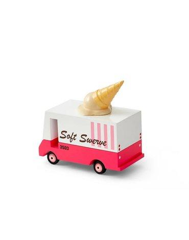 Candylab Samochód Drewniany Ice Cream Van