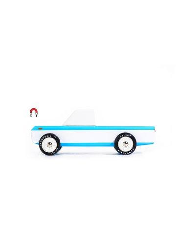 Candylab Samochód Drewniany Longhorn Blue