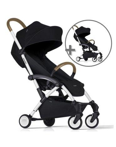 ZESTAW Wózek Bumprider Connect biały/czarny + drugi wózek  -50%