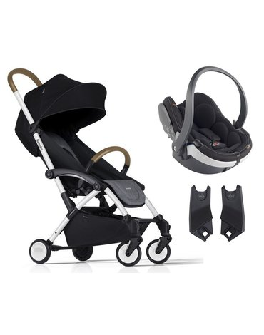 ZESTAW Wózek Bumprider Connect biały/szary + Fotelik iZi Go Mod. -50%