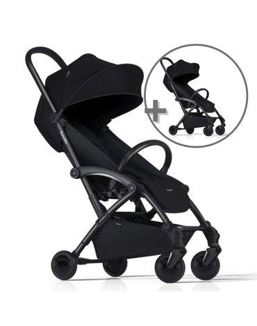 ZESTAW Wózek Bumprider Connect czarny/czarny + drugi wózek  -50%