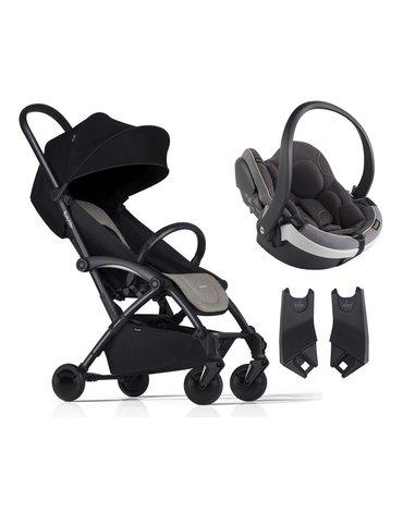 ZESTAW Wózek Bumprider Connect czarny/khaki + Fotelik iZi Go Mod. -50%