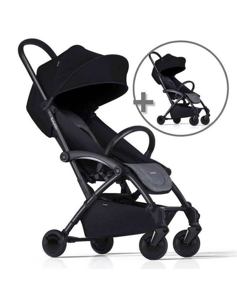 ZESTAW Wózek Bumprider Connect czarny/szary + drugi wózek  -50%