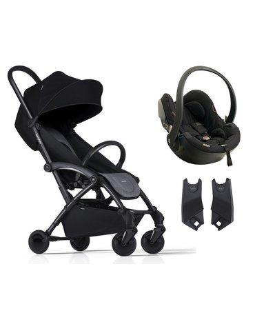 ZESTAW Wózek Bumprider Connect czarny/szary + Fotelik iZi Go -50%