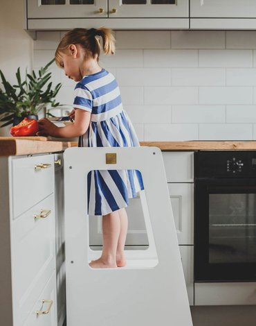MeowBaby® Kitchen Helper Premium Pomocnik Kuchenny dla Dziecka