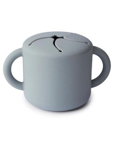 Mushie - Kubek niewysypek na przekąski SNACK CUP Stone