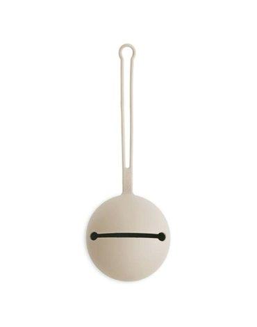 Mushie - Etui na smoczek do wózka Kula Ball Shifting Sand