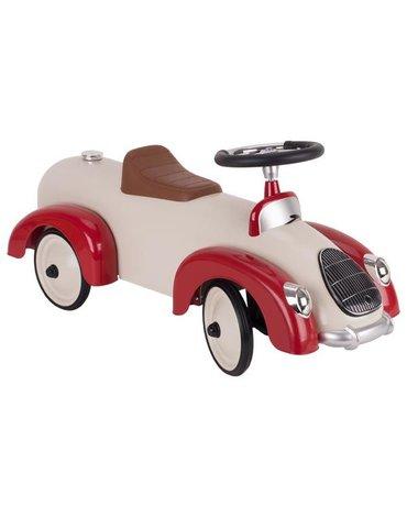 Goki - Jeździk wyścigowy czerwono-biały