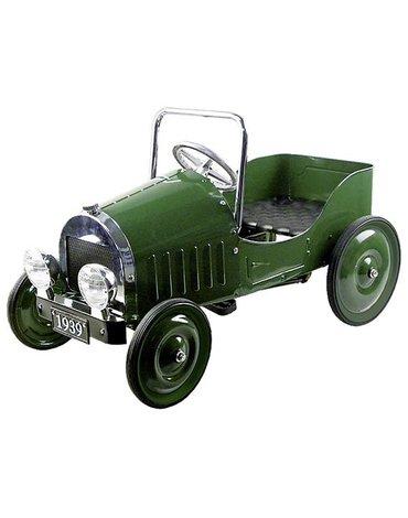 Goki - Samochód zielony z pedałami ( rocznik 1939 )