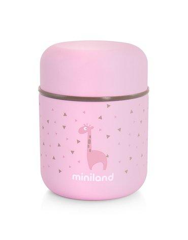 Miniland - Termos do posiłków Azure-Rose 280ml - różowy
