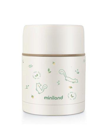 Miniland - Termos do posiłków ECO-friendly 600ml - Wiewiórka
