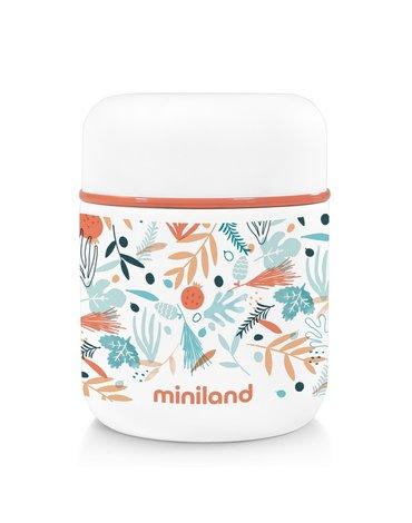 Miniland - Termos do posiłków 280ml - śródziemnomorski