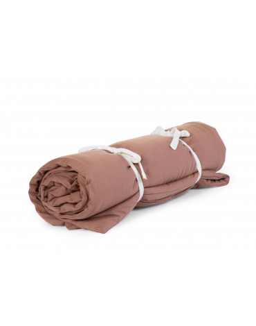 CHILDHOME - QUILTED BLANKET 140x100 RUST