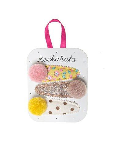 Rockahula Kids - spinki do włosów Blossom Pom Pom