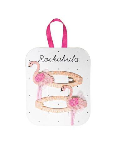 Rockahula Kids - spinki do włosów Tutu Flamingo