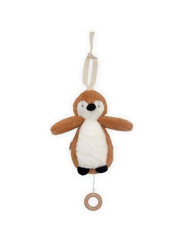 Jollein - Baby & Kids - Jollein - Pozytywka do usypiania Pingwin CARAMEL