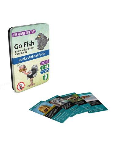 Podróżna gra karciana The Purple Cow - Go Fish Zwierzęta