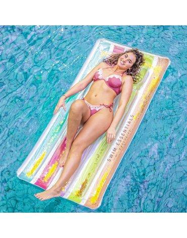 The Swim Essentials - Swim Essentials Luksusowy materac do pływania Tęcza 2020SE44