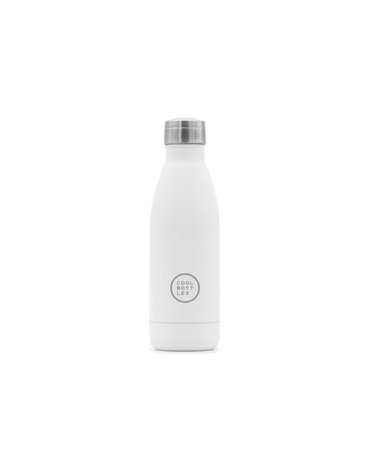COOLBOTTLES - Cool Bottles Butelka termiczna 350 ml Triple cool Mono White