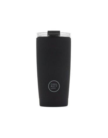 COOLBOTTLES - Cool Bottles Kubek termiczny 550 ml Triple cool Mono Black