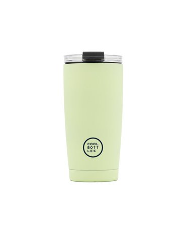 COOLBOTTLES - Cool Bottles Kubek termiczny 550 ml Triple cool Pastel Green