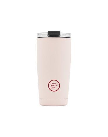COOLBOTTLES - Cool Bottles Kubek termiczny 550 ml Triple cool Pastel Pink