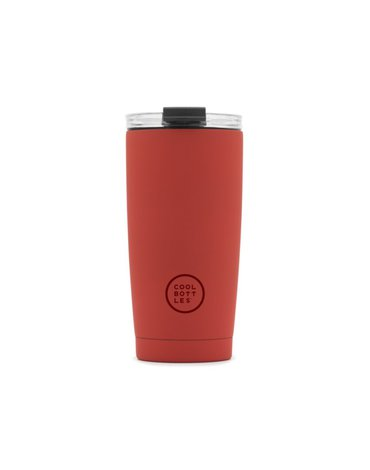 COOLBOTTLES - Cool Bottles Kubek termiczny 550 ml Triple cool Vivid Red
