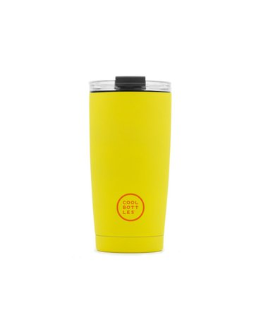 COOLBOTTLES - Cool Bottles Kubek termiczny 550 ml Triple cool Vivid Yellow