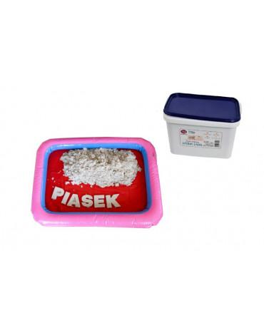 Nefere zabawki piasek - Piasek kinetyczny 5 kg z piaskownicą