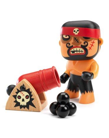 Djeco - Figurka wojownika RICK & Boumcrak DJ06834