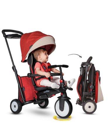 Smart Trike Składany rowerek Folding Trike STR 5 7w1 -czerwony melange
