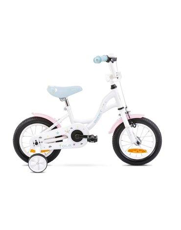 Rower Romet Tola 12 biało- turkusowy12