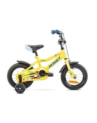 Rower Romet Tom 12 żółto niebieski 12