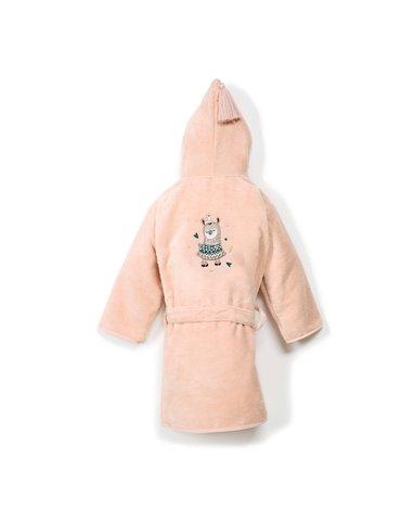 LA MILLOU - SZLAFROK BAMBOO SOFT - LARGE - POWDER PINK - I'M RAINBOW BABY